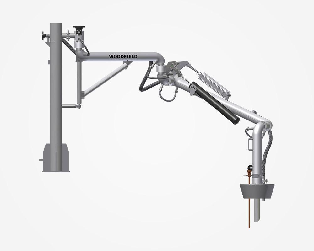 W440 PJ Long Reach Top Loading Arm