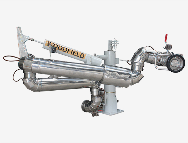 """W840-KP 4"""" Supported Boom Bottom Loading Arms"""