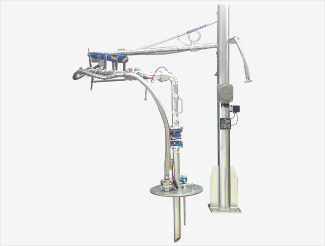"""W440-KP 3"""" Supported Boom Top Loading Arm"""