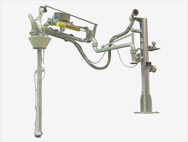 """W440-PR 4"""" Supported Boom Top Loading Arms"""