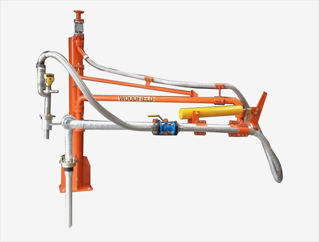 """W400-PR 3"""" Supported Boom Top Loading Arms"""