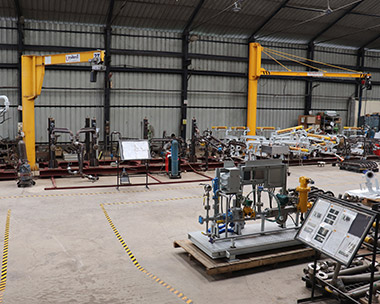 Jacketed Top Loading Arm,