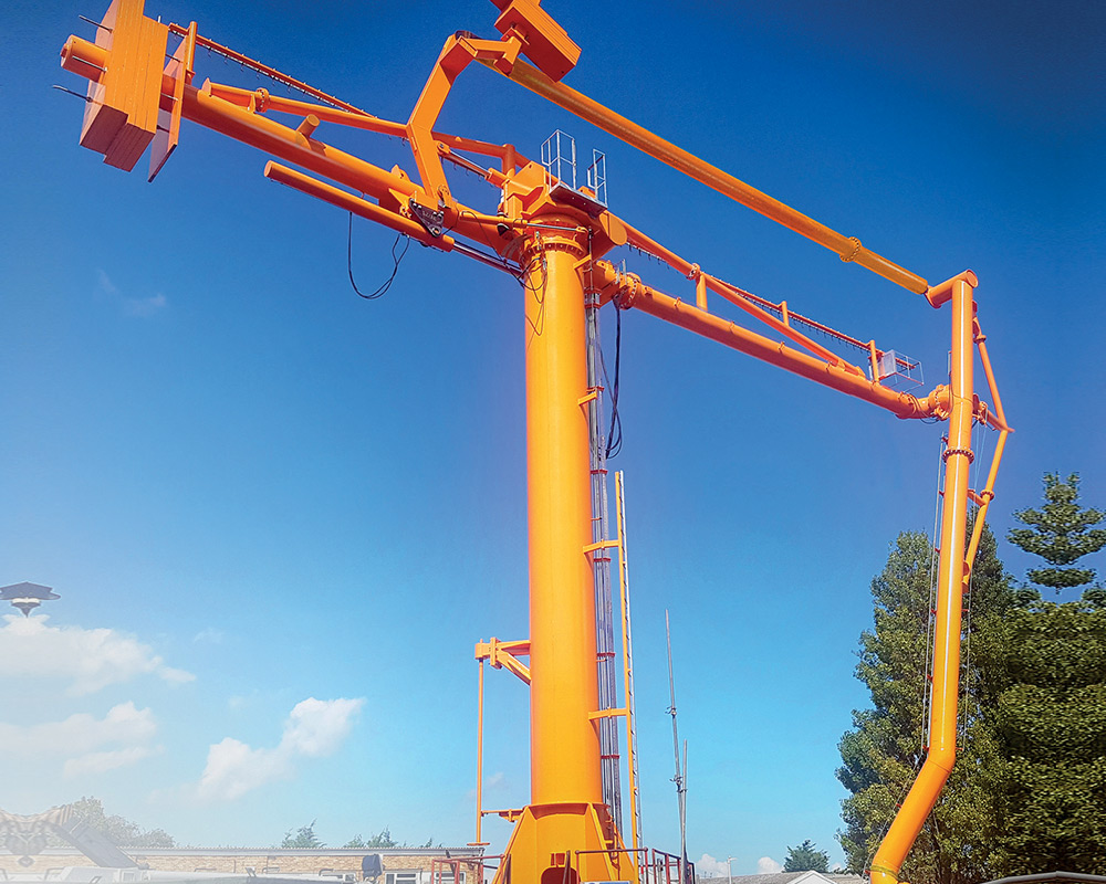 Marine Loading Arm with Emergency Release System