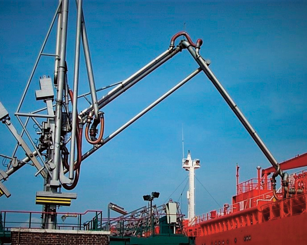 Marine Loading Arm (Manual or Hydraulic Operation)